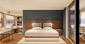Custom Line Navetta 30 Project Lower Deck