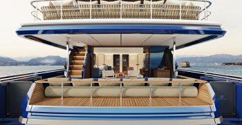 Custom Line Navetta 30 Project Main Deck