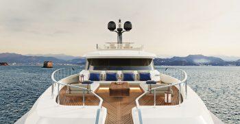 Custom Line Navetta 30 Project Sun Deck