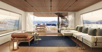 Custom Line Navetta 30 Project Upper Deck