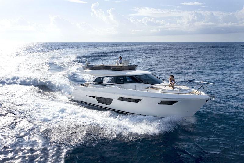 Ferretti Yachts 500 Contemporary Cruising