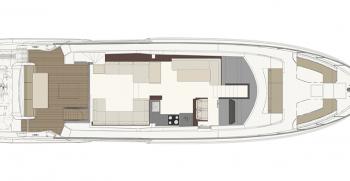 Ferretti Yachts 670 Layout