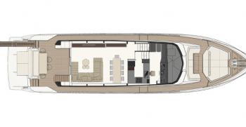 Ferretti Yachts 780 Layout