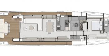 Ferretti Yachts 920 Layout
