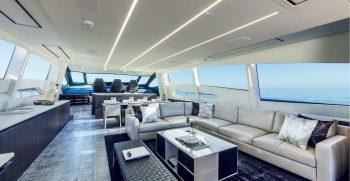 Pershing 108 Main Deck