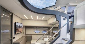 Pershing 62 Lower Deck