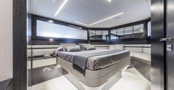 Pershing 9X Lower Deck